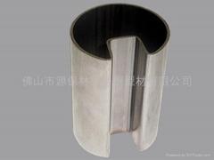 不鏽鋼凹槽管