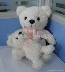 廣東毛絨玩具廠家供應毛絨玩具熊訂做