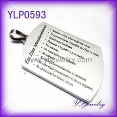 316L不锈钢时尚吊饰
