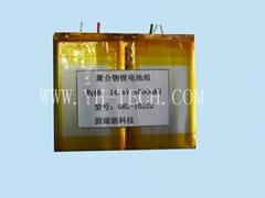 供应14.8V 4000MAH 聚合物锂电池组