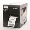 zebra ZM400条码打印