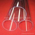 UV stop quartz glass tubes for car lampes