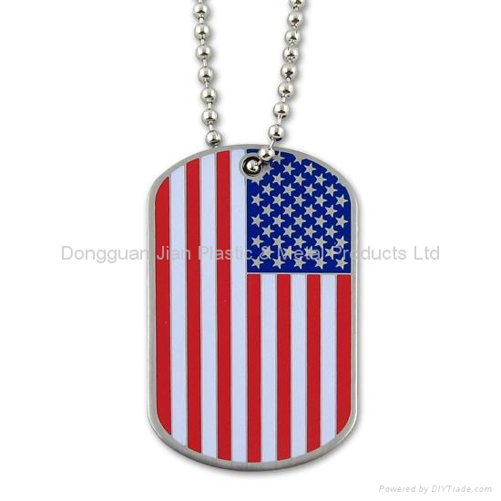 Photo Etched Metal Dog Tag 1