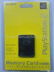 Memory card for PS2