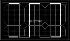 10w/10 watt monocrystalline solar module/solar panel