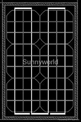 15w/15 watt monocrystalline solar module/solar panel
