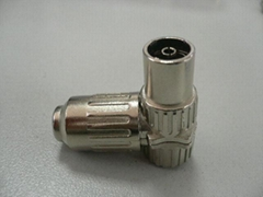 PAL FEMALE  RIGHT ANGLE ADAPTOR