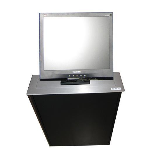 鋁合金拉絲液晶屏昇降器 1