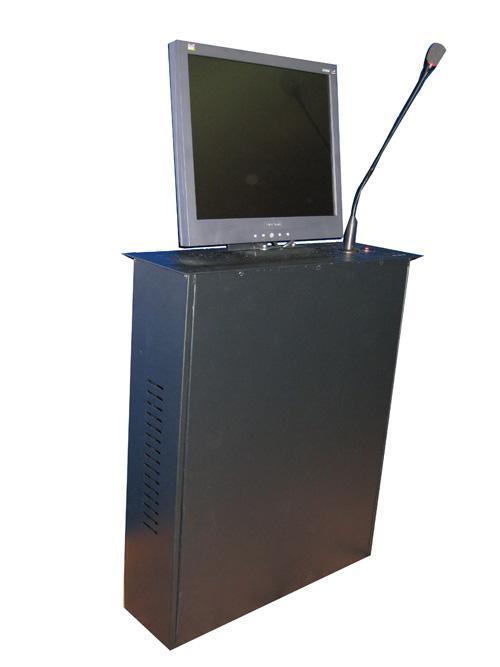 鋁合金拉絲液晶屏昇降器 4