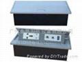 多媒體桌面插座H-106