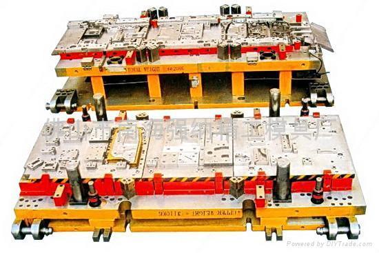 汽車模具加工廠-強納精工 1