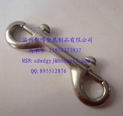 濱州智博金屬 不鏽鋼彈簧鉤雙頭鉤