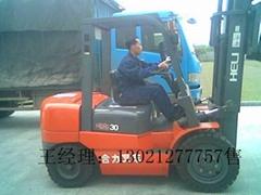 销售三吨四吨柴油内燃机叉车