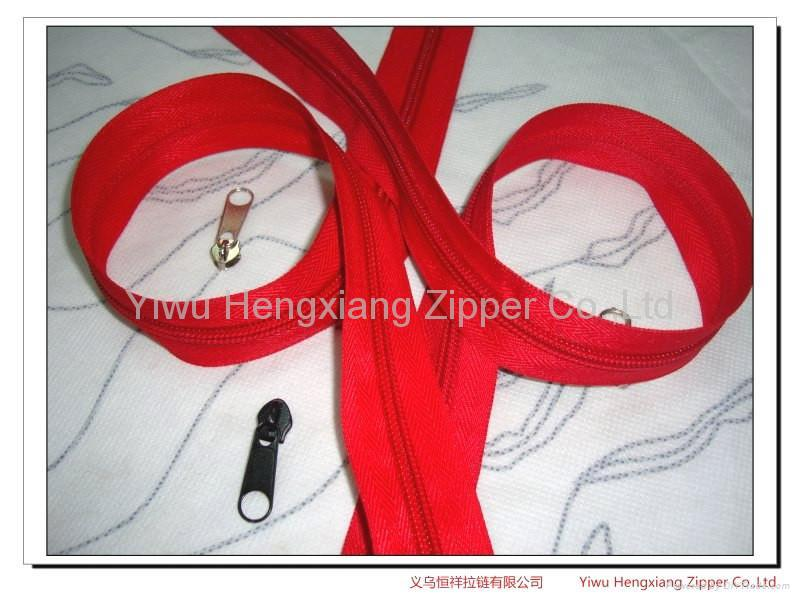 Nylon zipper 5