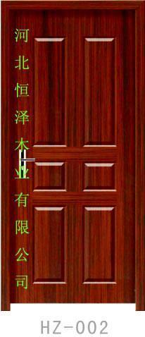 珍木烤漆套裝門 2