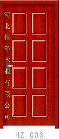 珍木烤漆套裝門 1