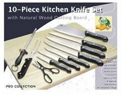 10 PCS cutlery set w/cho