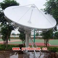 Probecom 4.5m C/KU Band earth station antenna