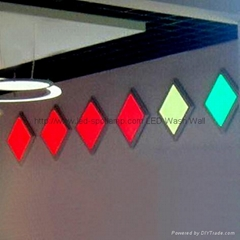 RGB Color Changing LED Light Panel 600x600mm