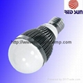 LED Ball Bulb 6W, Round, E27 / GU10 (Hot Product - 1*)