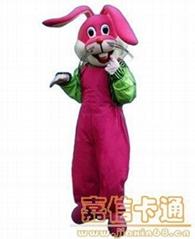供应卡通礼仪兔
