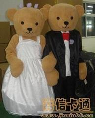 供应卡通婚礼熊