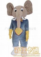 卡通泰国象服装