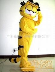 供应卡通咖啡猫服装