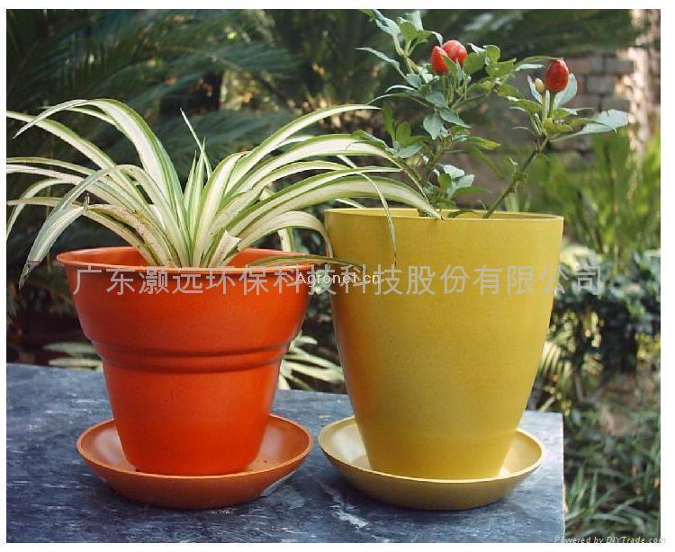 植物纖維環保花盆 2