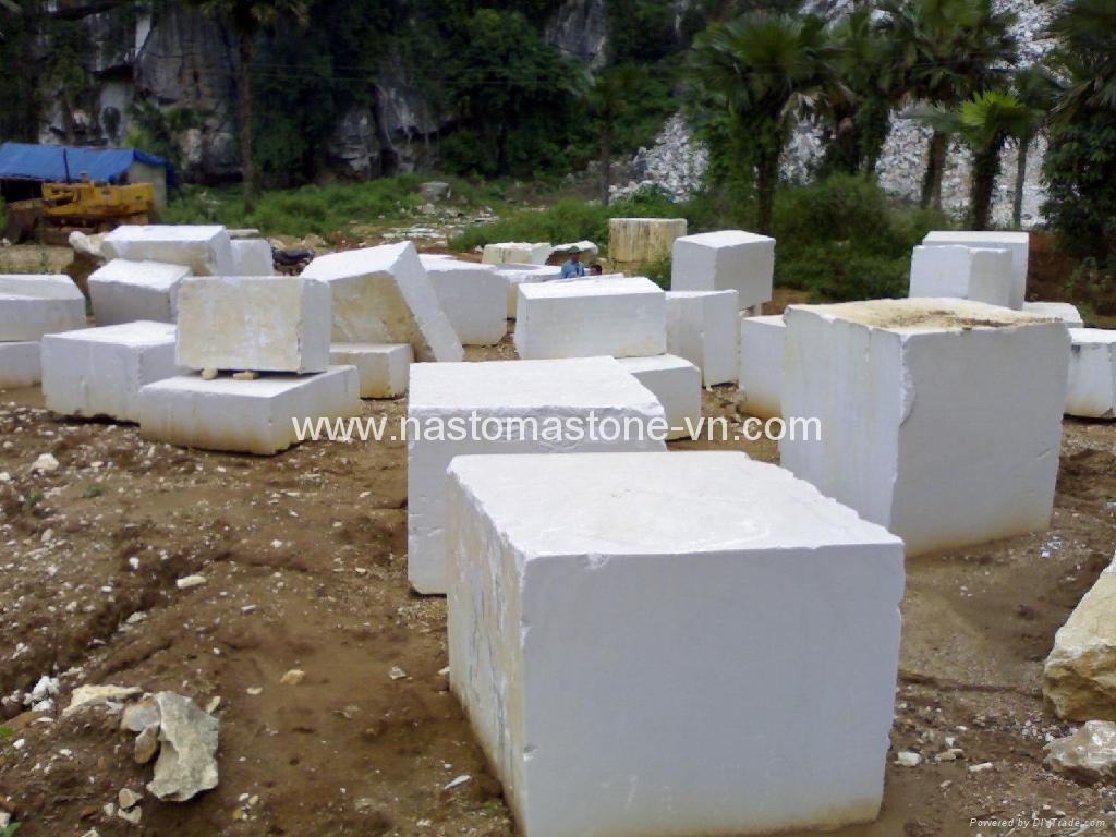 White Marble Block : Marble blocks