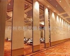 星級酒店專用移動隔音牆推拉吊趟門65
