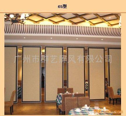 星级酒店专用移动隔音墙推拉吊趟门65 3