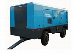 PESJ1000柴油移動空壓機出租租賃