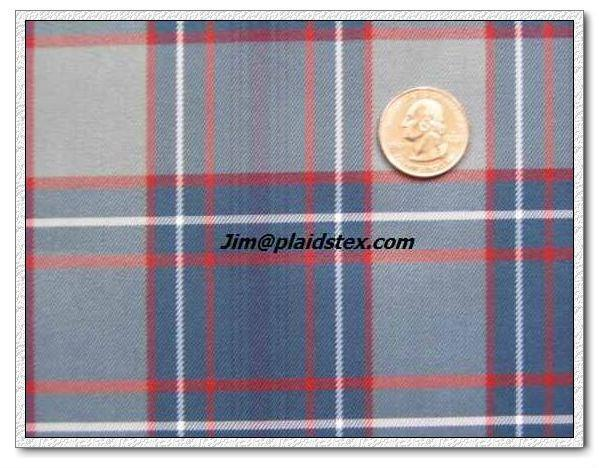 uniform plaid fabric 1