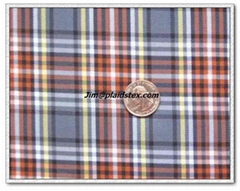 polyester plaid