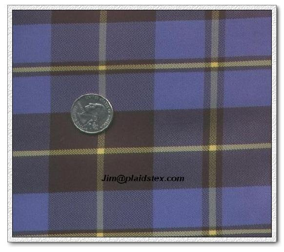 Polyester yarn dyed plaid, polyester plaid fabric 1
