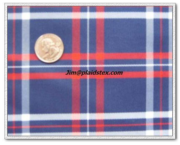 Polyester yarn dyed plaid, polyester plaid fabric 5