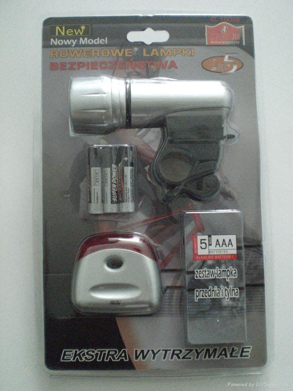 Bike light set 2