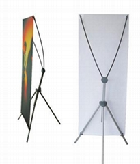 A type X banner triangle rack(HY02-8)