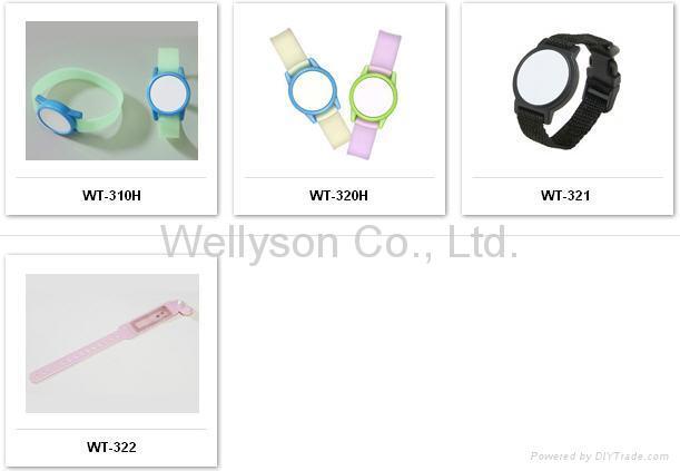 RFID Wristbands (LF and HF) 1