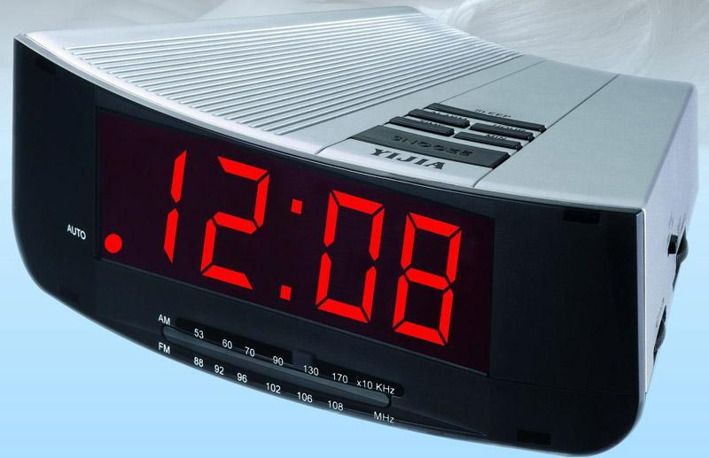 alarm clock radio yj2618 yijia china manufacturer products. Black Bedroom Furniture Sets. Home Design Ideas