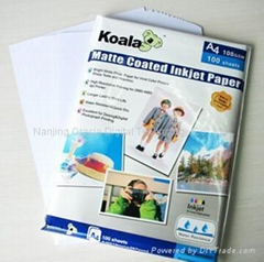Double-side Matte Card Photo Paper