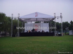 aluminum stage roofing truss