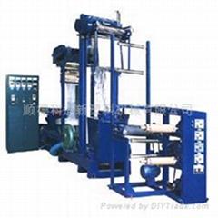 PVC shrinkable film blowing machine