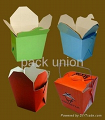 Paper Food Container/Fast Food Container/Take Away Food Container