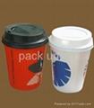 Plastic lids for Paper cups 2