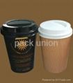 Plastic lids for Paper cups 3