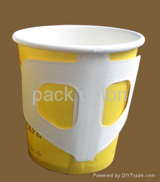 Paper cup with handle,Coffee paper cup, cold drinking paper cup,disposable paper 5