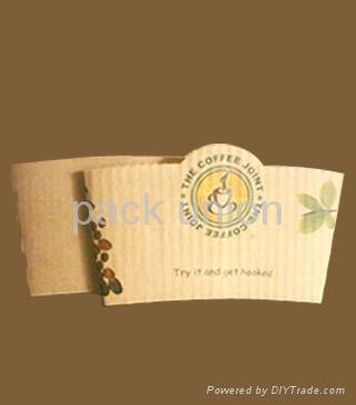 Paper Cup Sleeve (Cup Sleeve, Coffee cup sleeve) 1