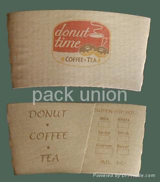 Paper Cup Sleeve (Cup Sleeve, Coffee cup sleeve) 2